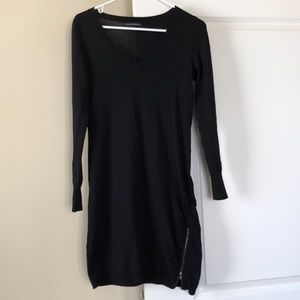 Banana Republic black sweater dress